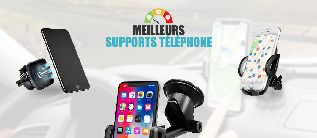 meilleurs supports telephone