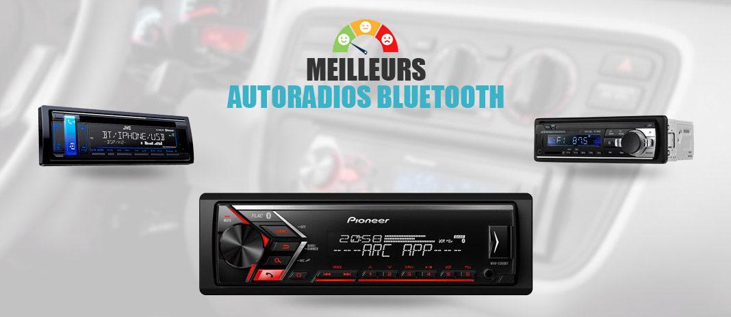 meilleurs autoradios bluetooth