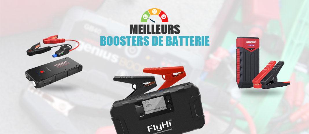 meilleurs boosters batterie