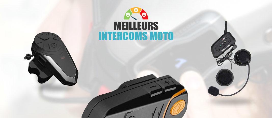 meilleurs intercoms moto