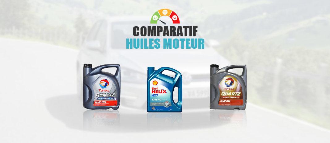 huiles moteur comparatif