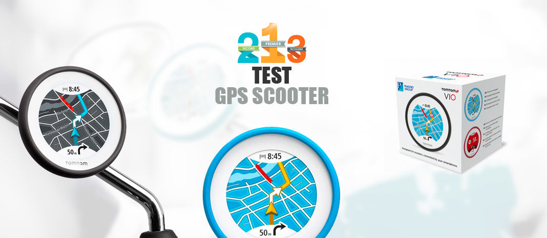 Test GPS scooter