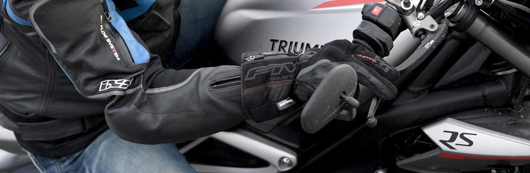 gants chauffants moto