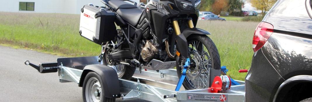 remorque porte-motos
