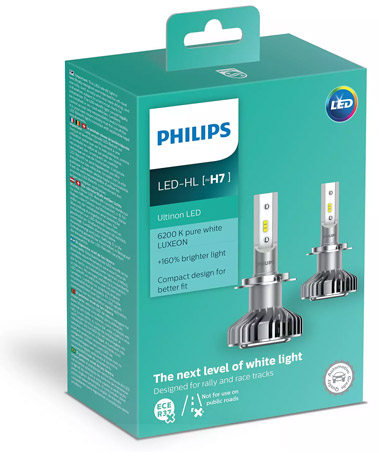 Philips Ultinon h7 led