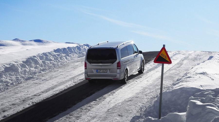EQV dans la neige