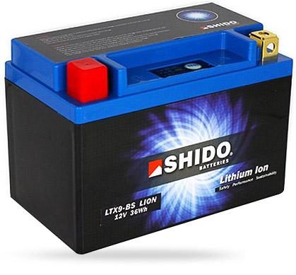 Batterie SHIDO lithium